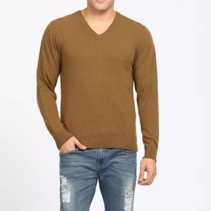 Izod Sweaters - Izod unisex sweater Brown v-neck